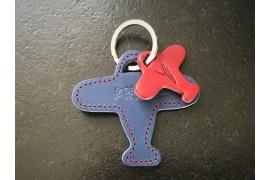 Porte-clés André bleu