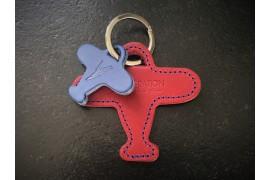 Porte-clés André rouge