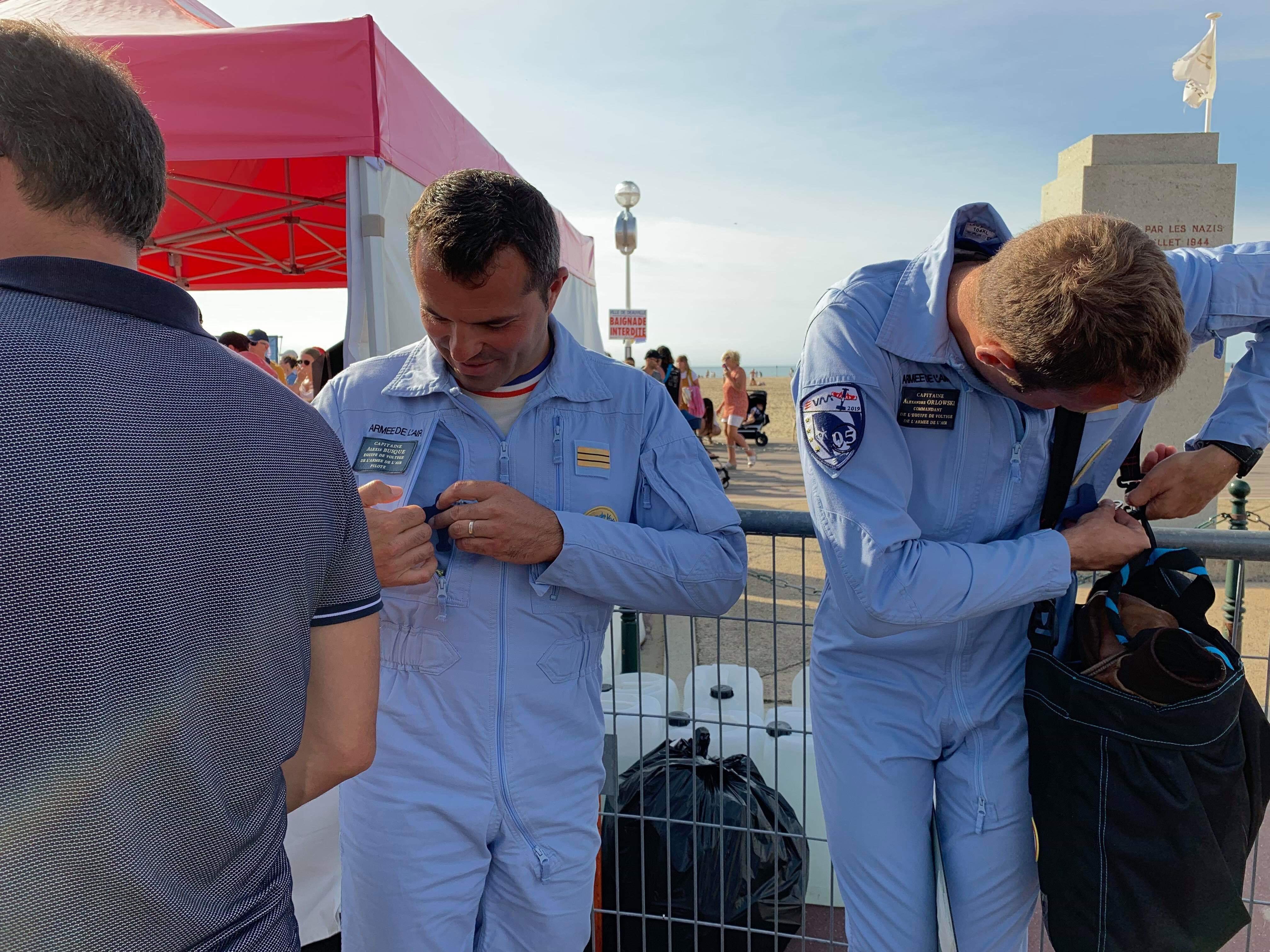 Pilotes Patrouille de France